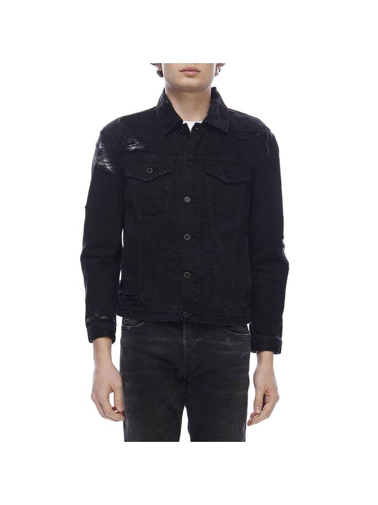 Diesel Jacket Jacket Men Diesel - black