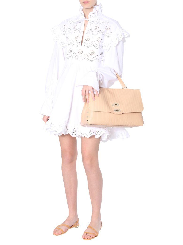 Philosophy di Lorenzo Serafini Cotton Poplin Dress - BIANCO