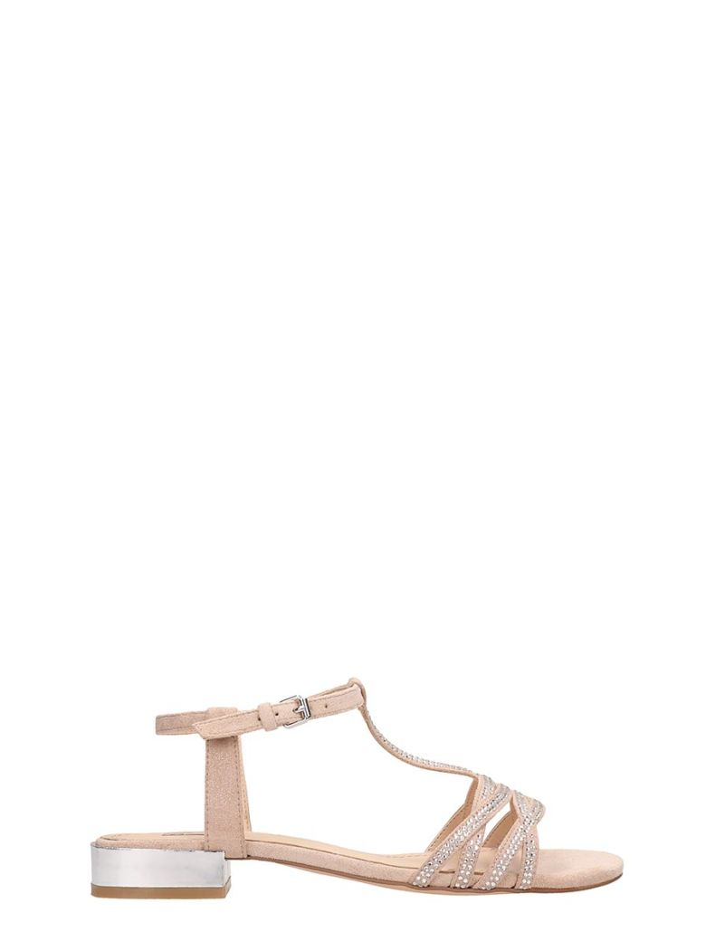 Bibi Lou Nude Suede Flat Sandals - Basic