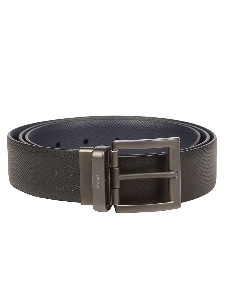 Prada Belt - Nero/baltico