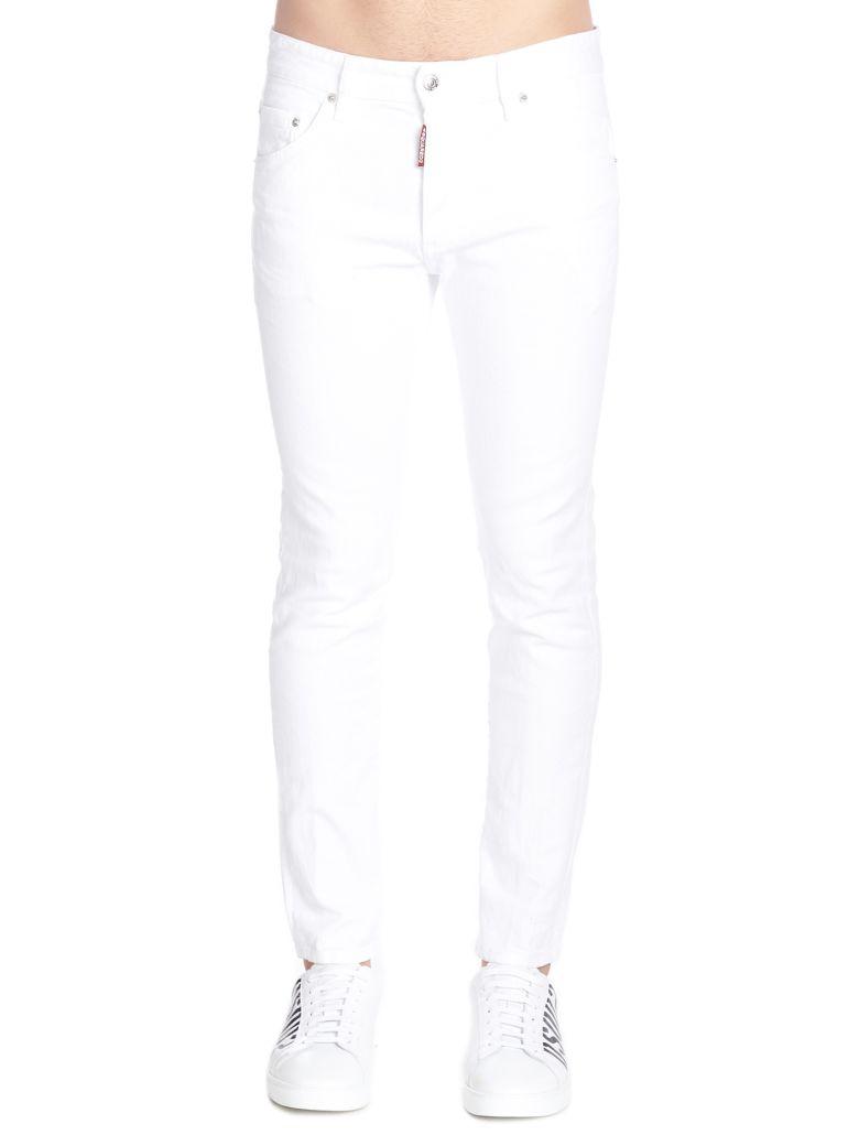 Dsquared2 'skinny Dan' Jeans - White