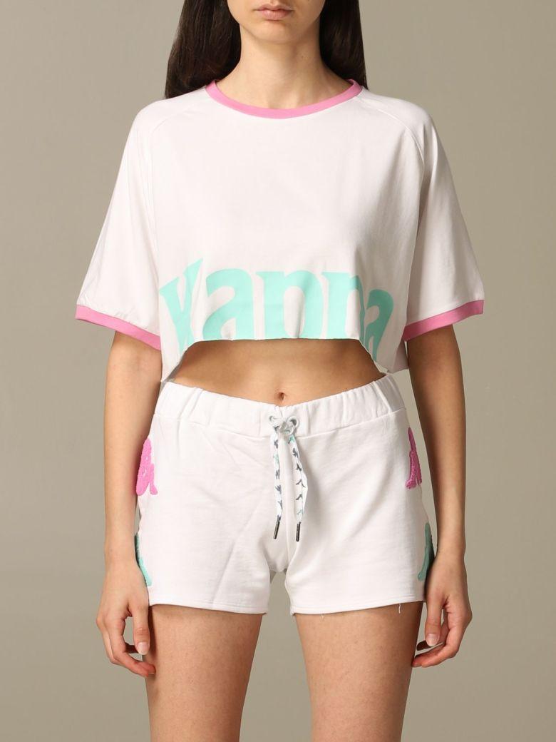 Kappa T-shirt T-shirt Women Kappa - white