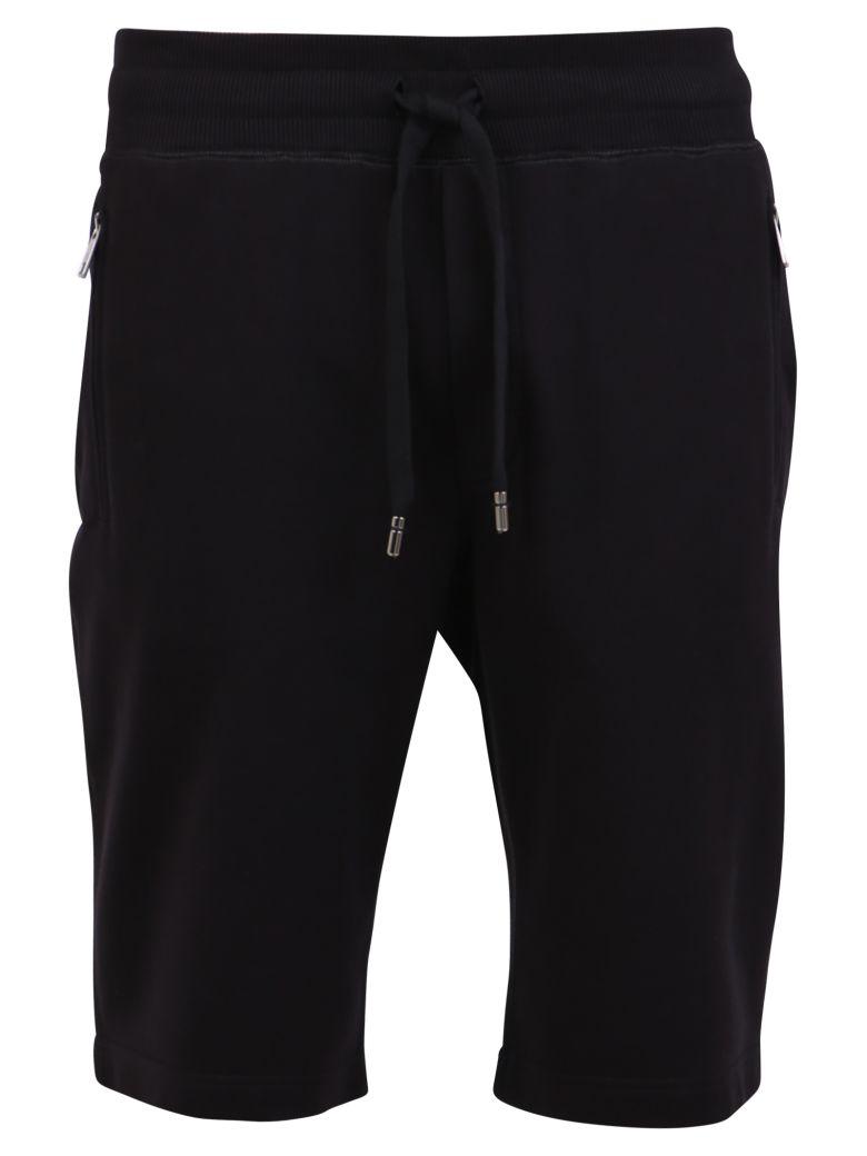 Dolce & Gabbana Branded Shorts - Black