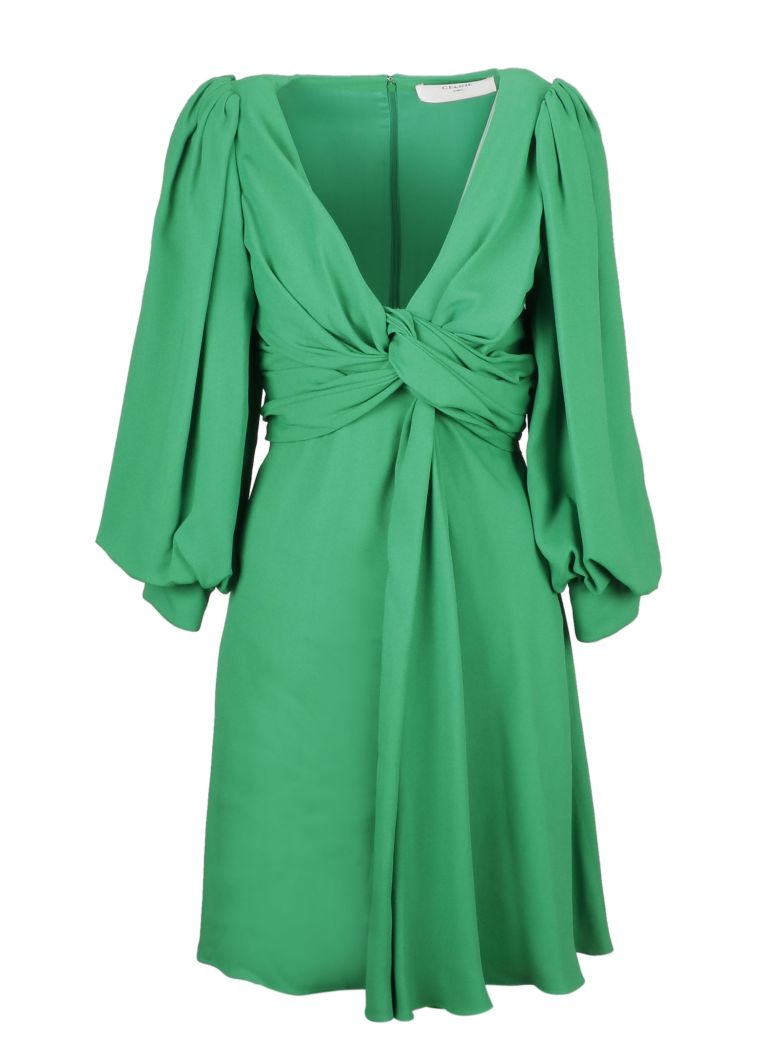 Celine Gathered Dress - Rd