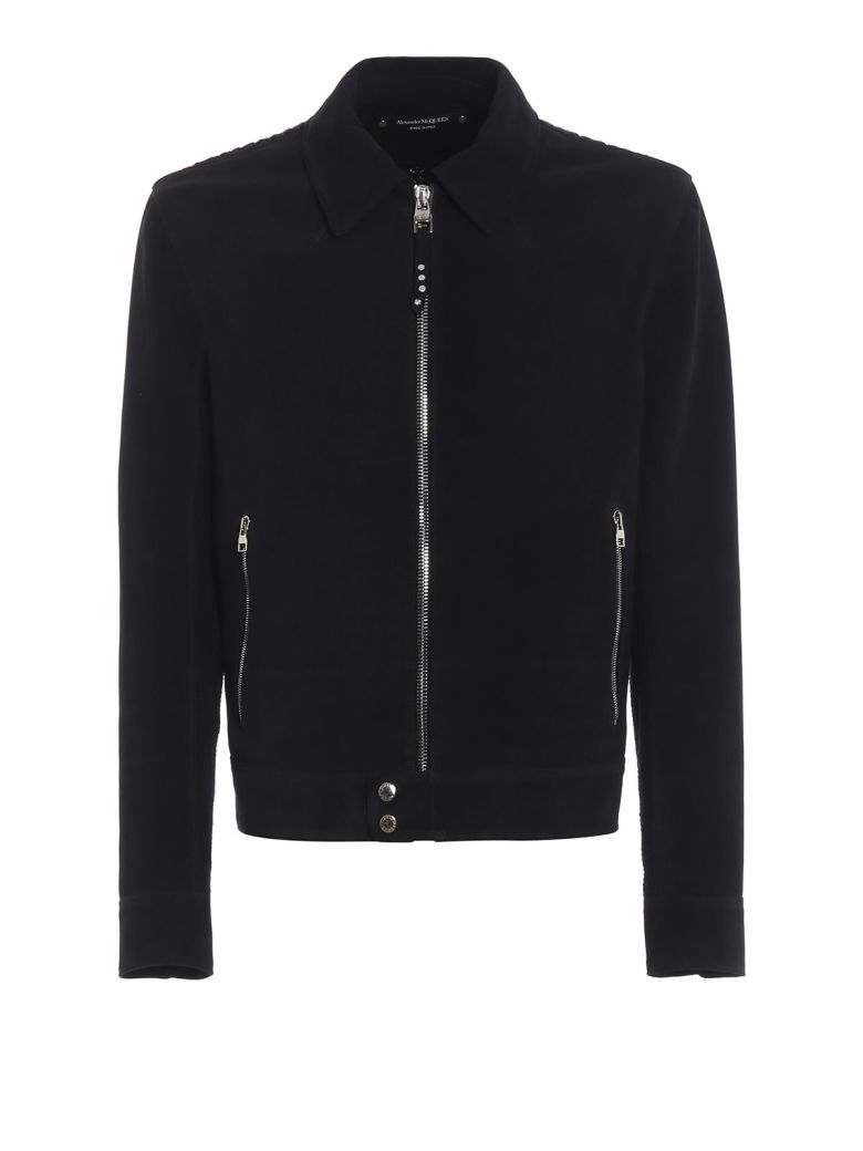 Alexander McQueen Knitted Back Jacket - Basic