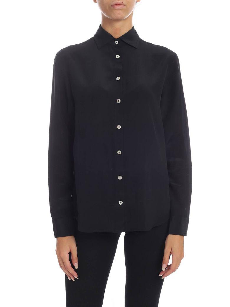 Barba Napoli Barba - Pure Silk Shirt - Black