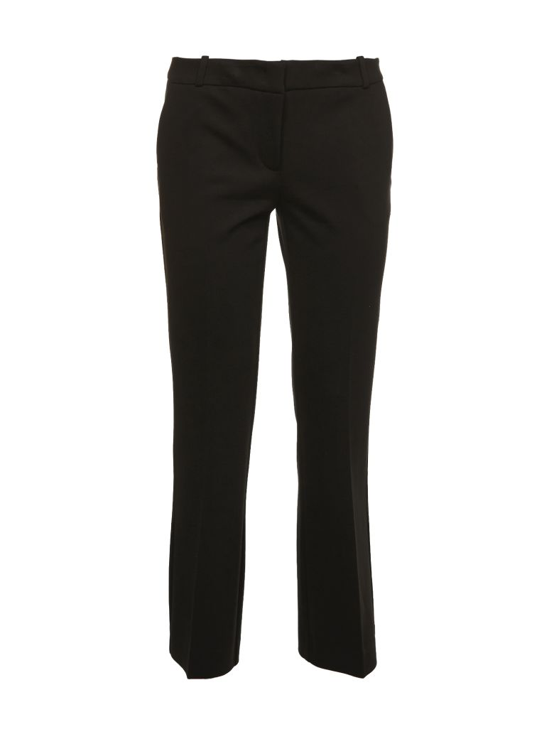 Kiltie & Co. Cropped Tailored Trousers - Nero