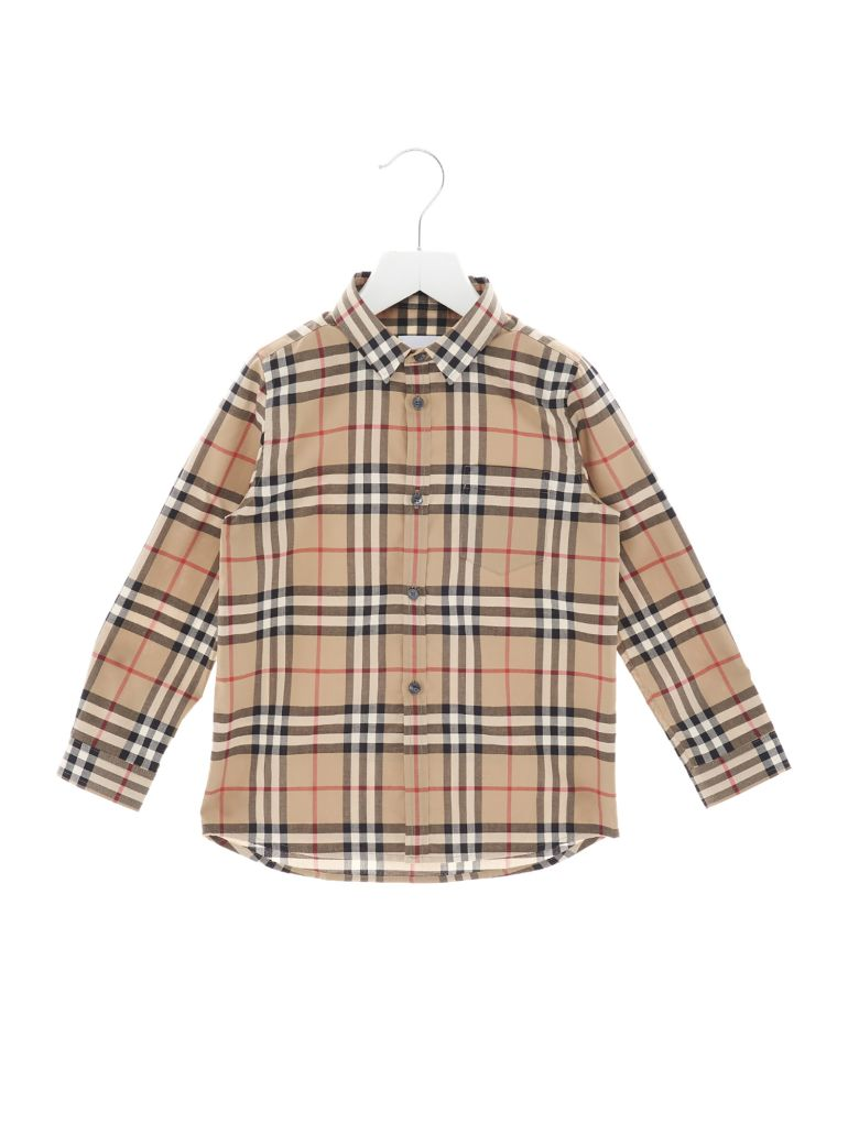 Burberry 'fred Pocket' Shirt - Multicolor