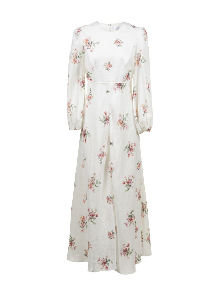 Zimmermann Heathers Maxi Dress - Bianco multicolor