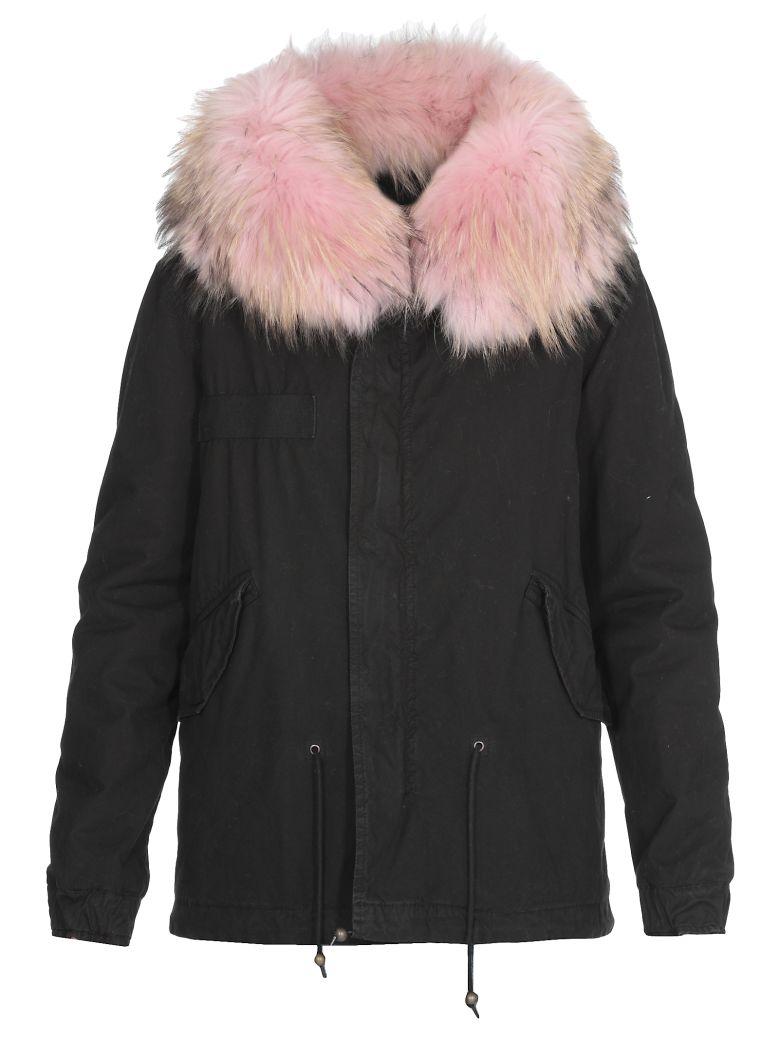 Mr & Mrs Italy Fur Parka - BLACK