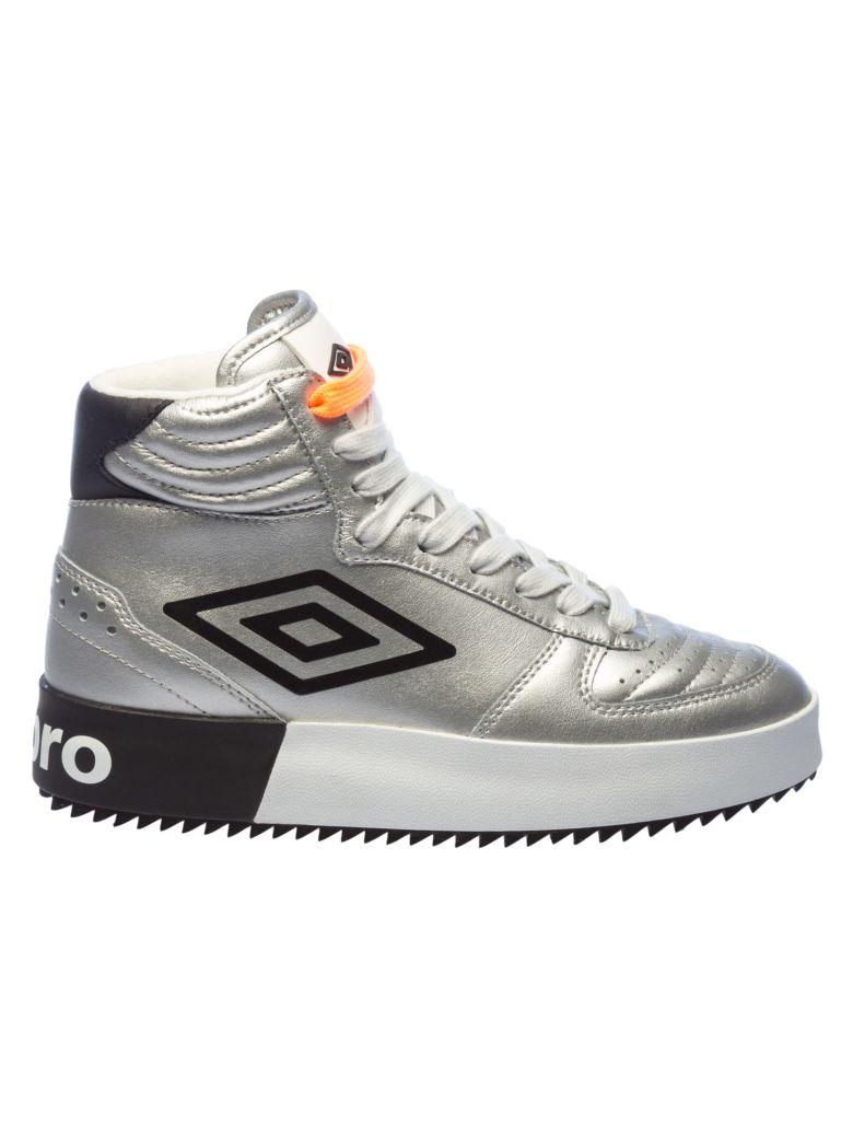 Umbro Side Logo Basketball Sneakers - Silver