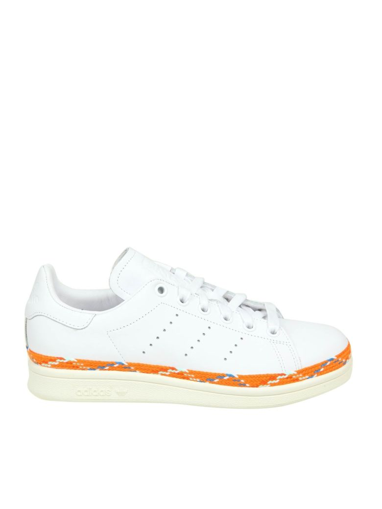 Adidas Originals Sneakers Stan Smith New Bold Leather White Color - White