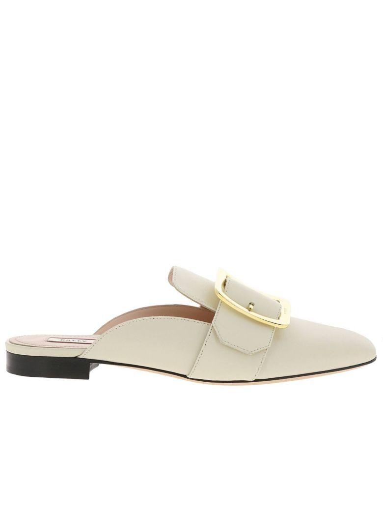 Bally Ballet Flats Shoes Women Bally - yellow cream