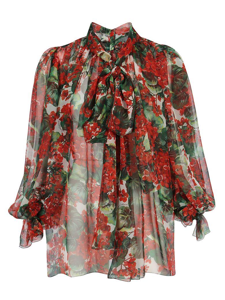 Dolce & Gabbana Shirt - Gerani fdo bco nat
