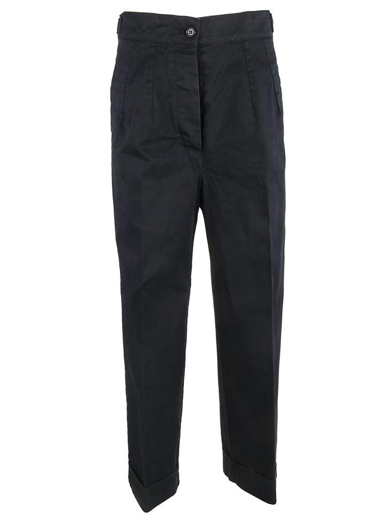 Aspesi Turn-up Hem Trousers - Blue
