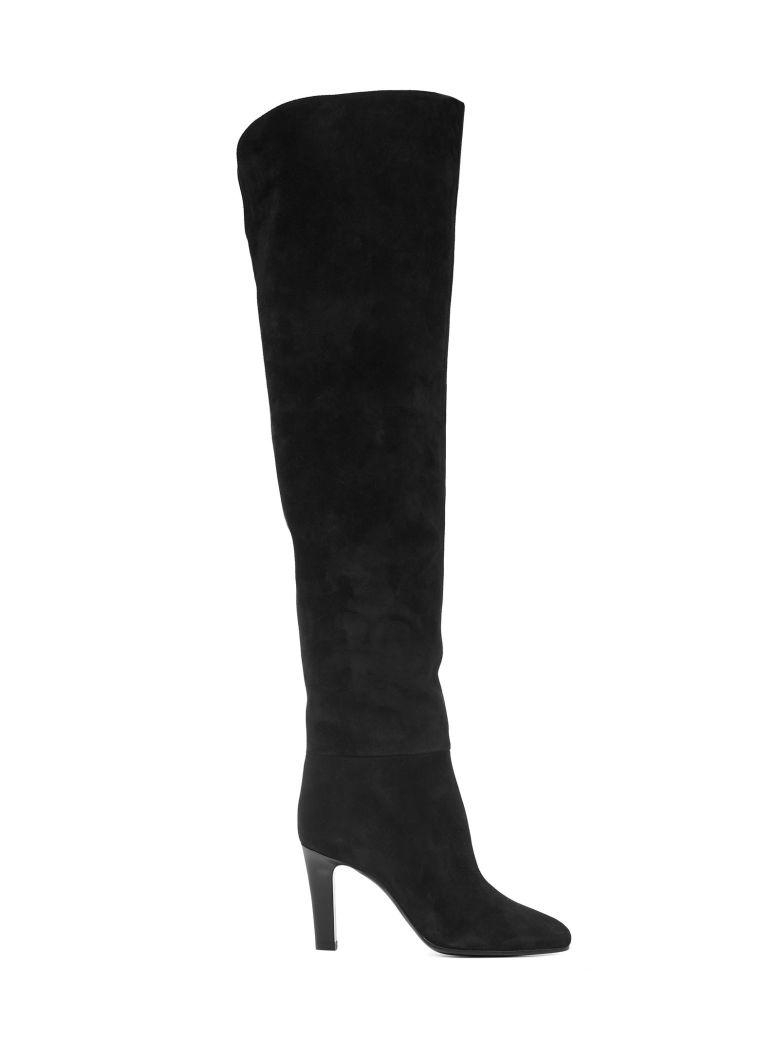 Saint Laurent Jane Boots - Black