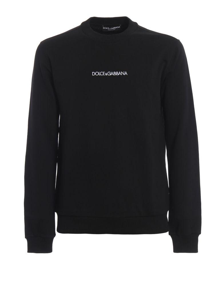 Dolce & Gabbana Logo Sweatshirt - Black