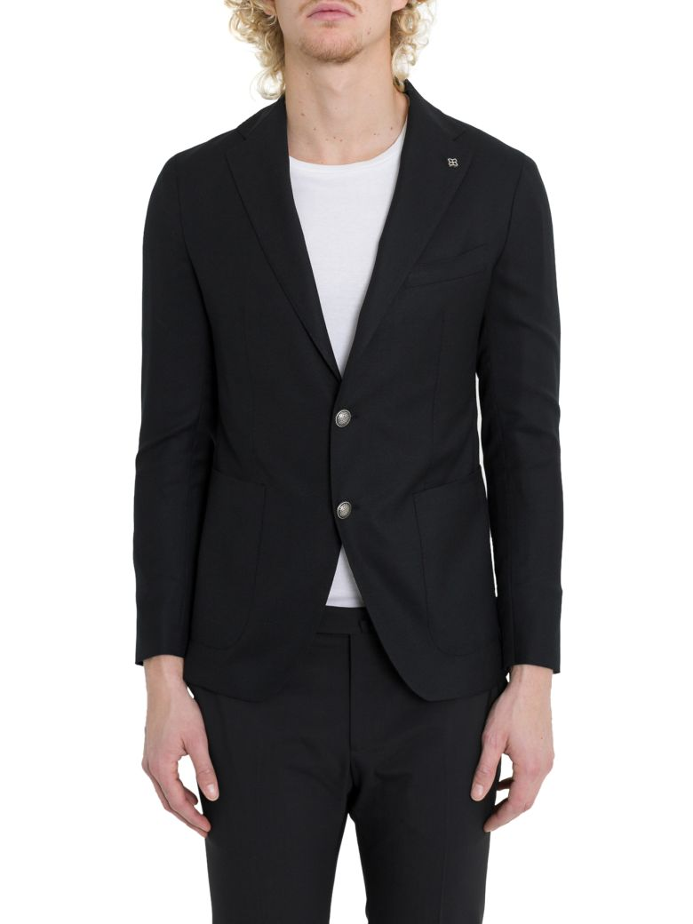 Tagliatore Monte Carlo Single-breasted Blazer - Nero