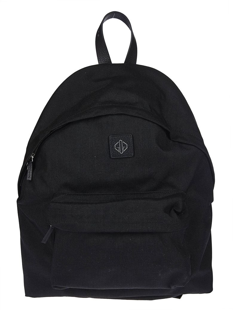 Golden Goose Logo Backpack - Black
