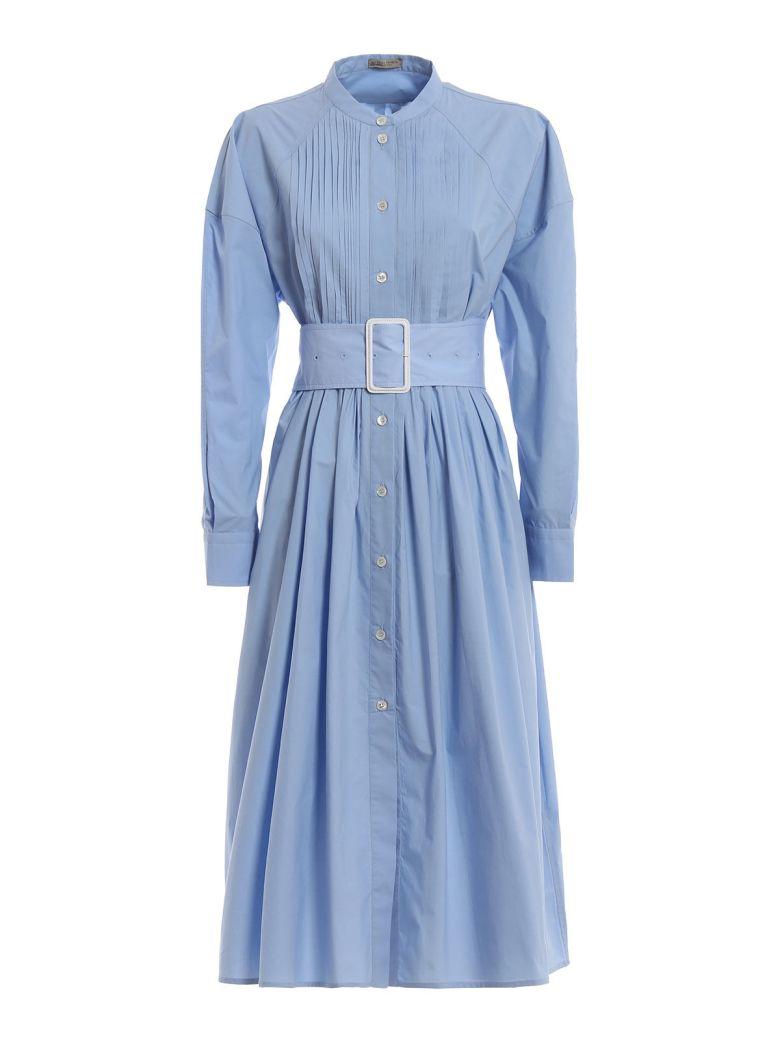 Bottega Veneta Bottega Veneta Pleated Dress - Baby Blue