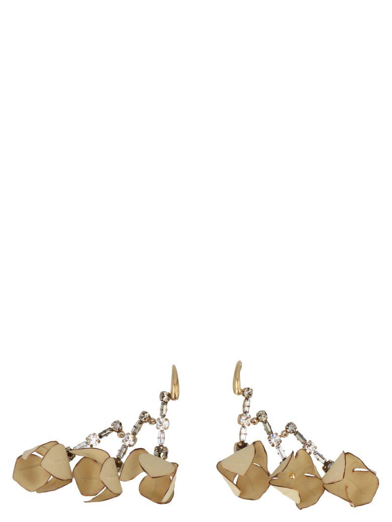 Marni Earrings - Beige