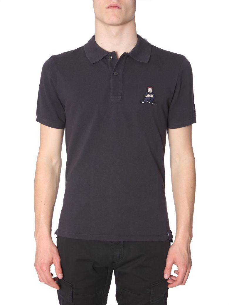 C.P. Company Cotton-pique Polo Shirt - NERO