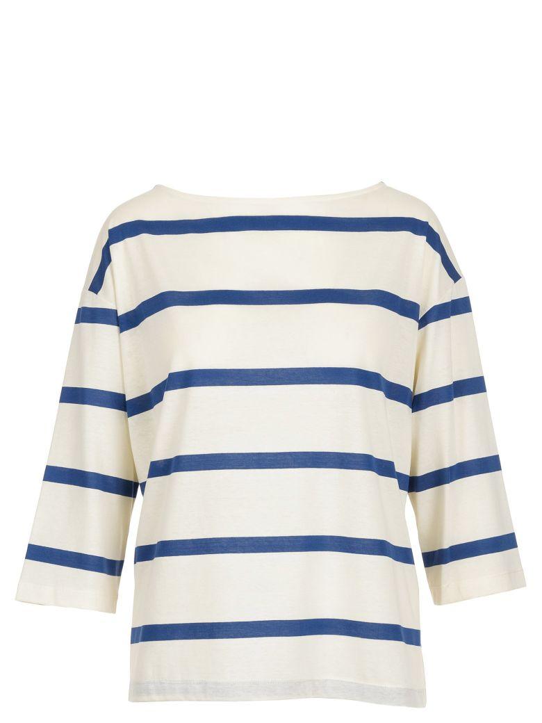 Alysi Cotton Sweater - Cobalto
