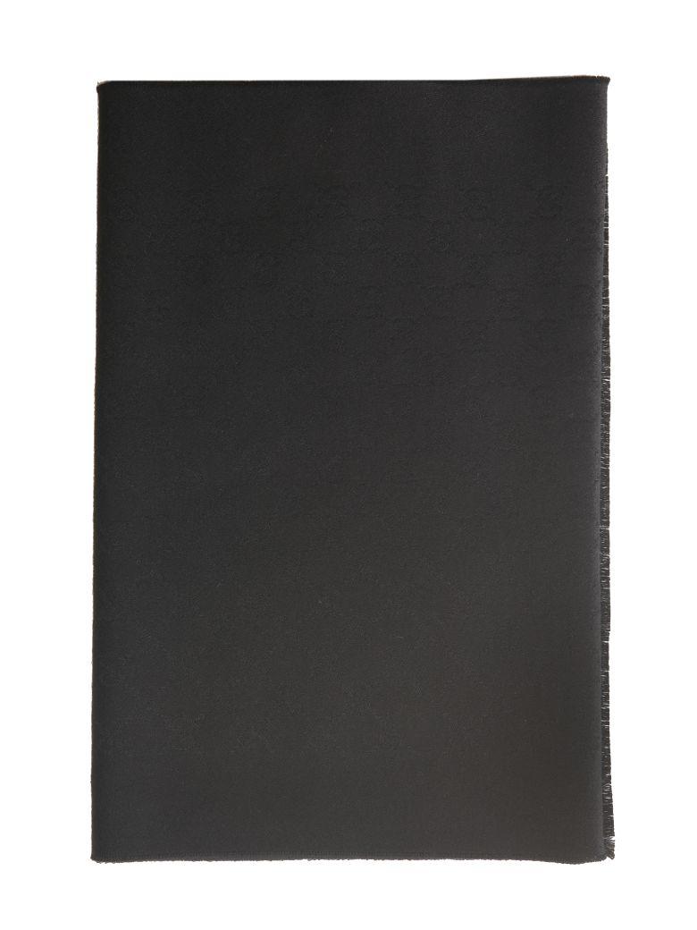 Gucci Classic Knit Scarf - Black