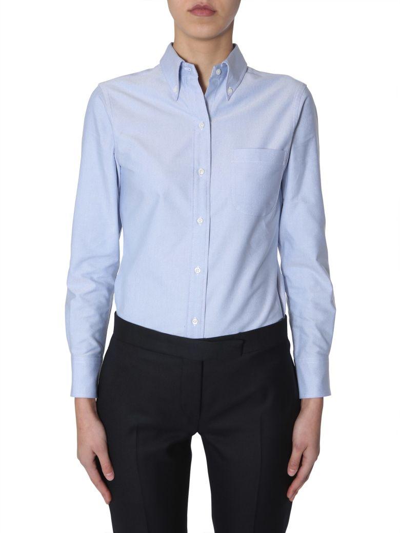 Thom Browne Button Down Shirt - Blue
