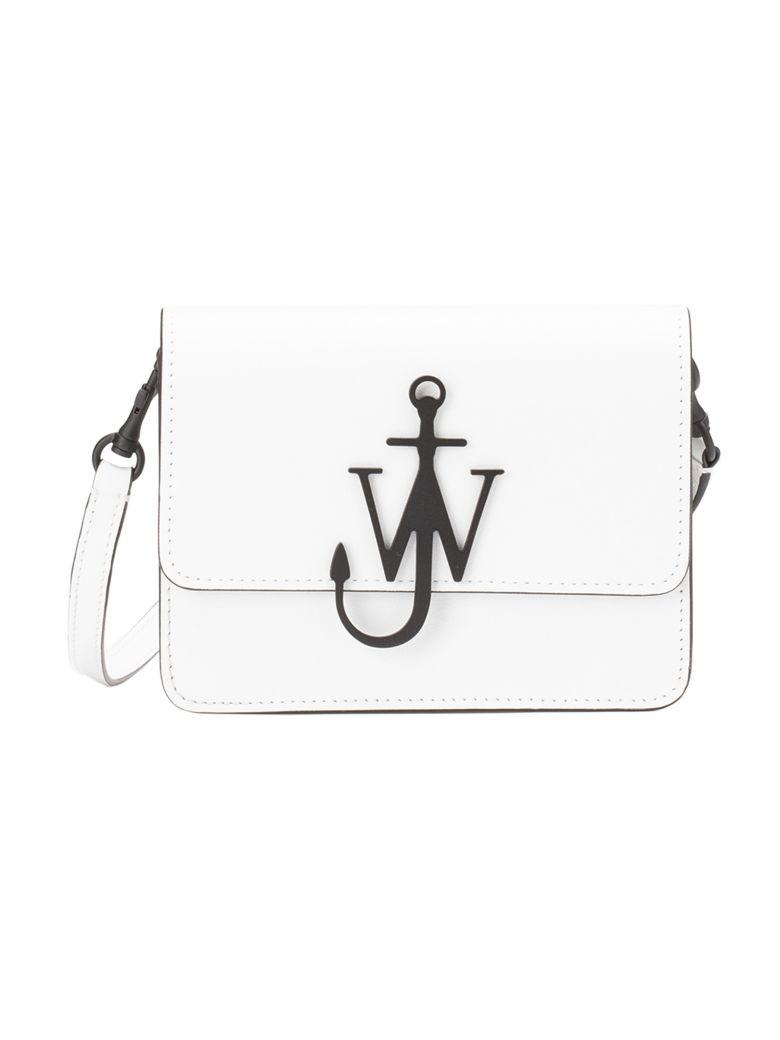 J.W. Anderson Logo Shoulder Bag - White