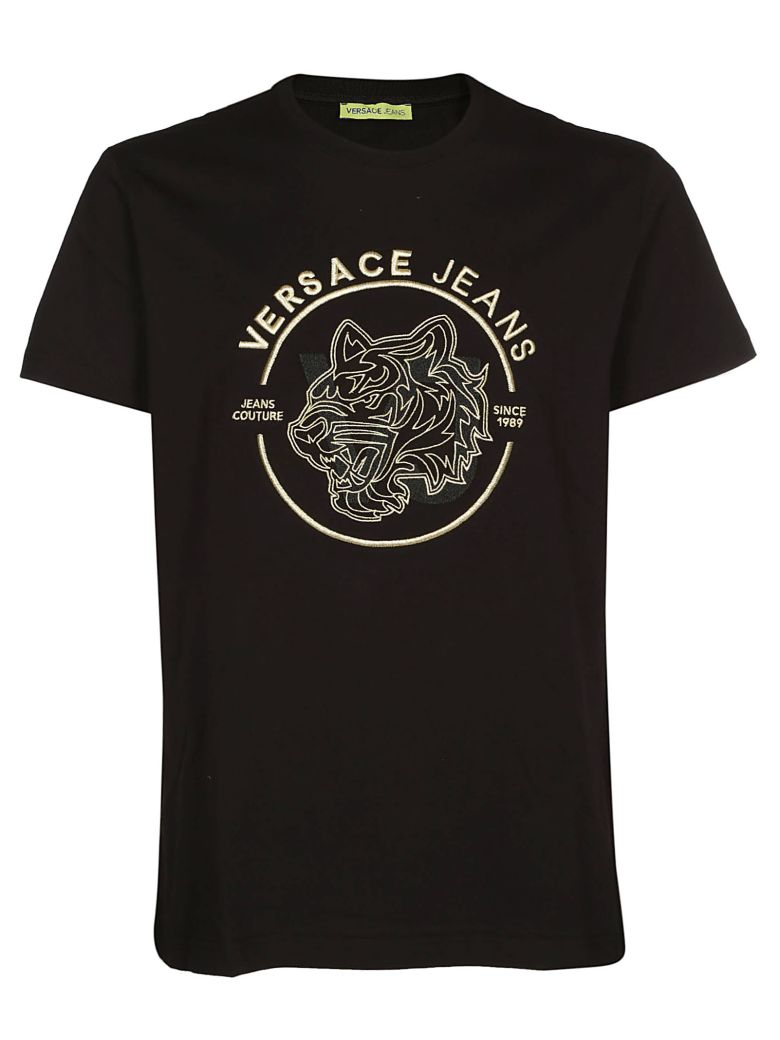 Versace Jeans Tiger Head T-shirt - Black