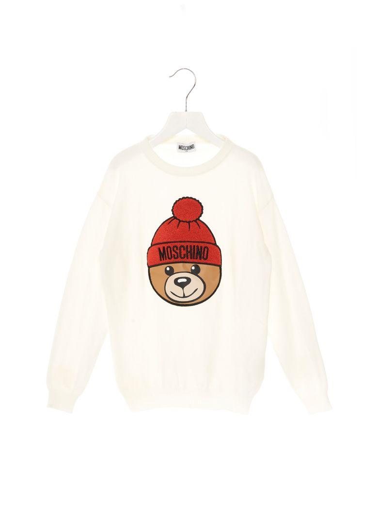Moschino 'teddy' Sweater - White