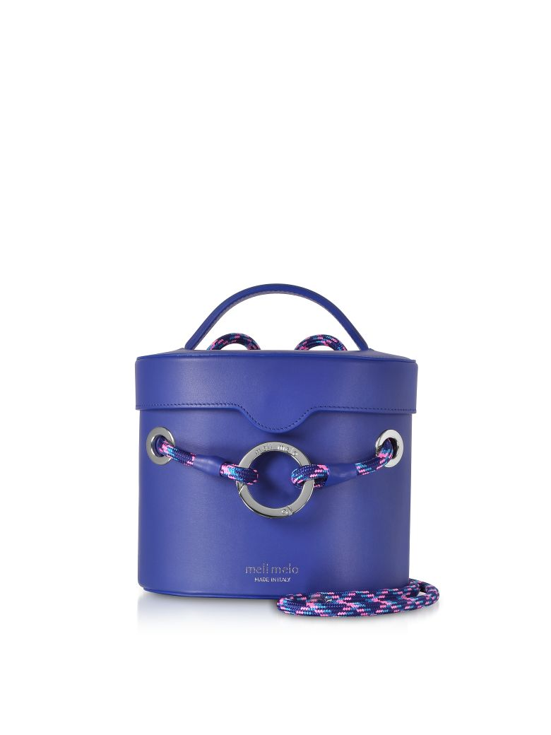 Meli Melo Majorelle Blue Nancy Shoulder Bag - Blue