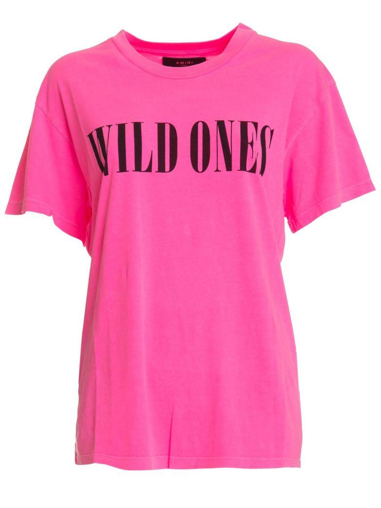 AMIRI Wild Ones Print T-shirt - ROSA