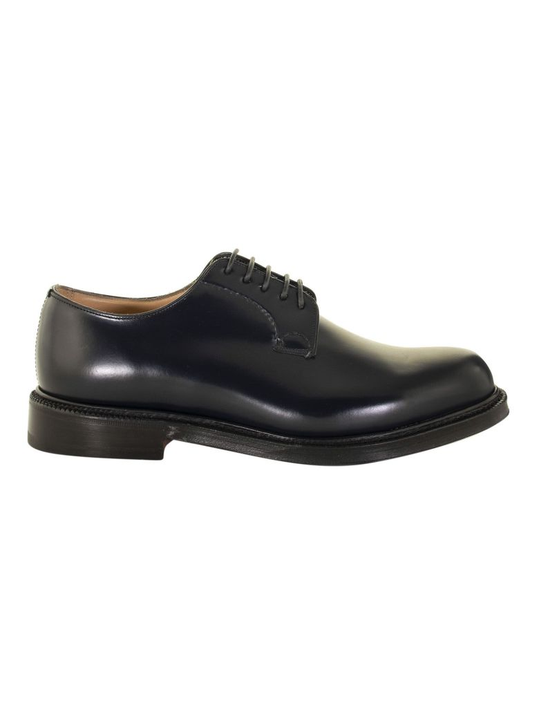 Church's Shannon Navy Lace-up Derby Shoes - Navy