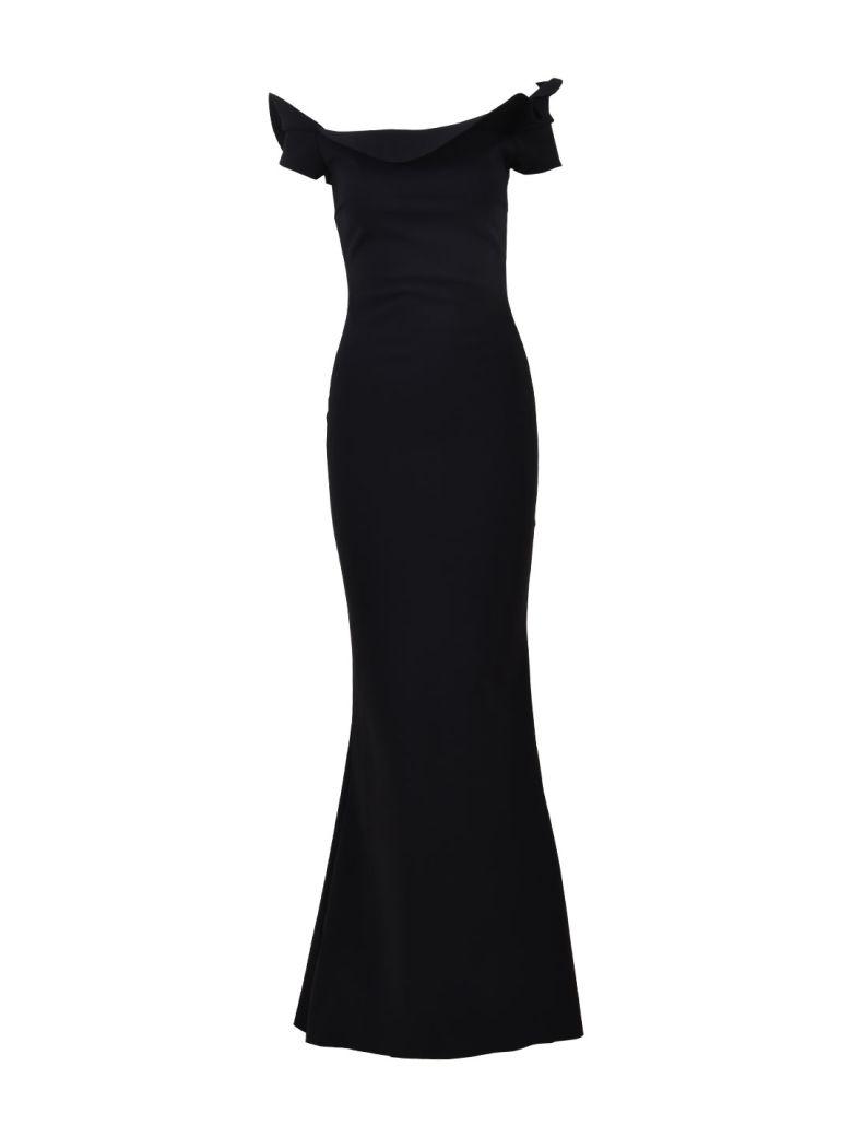 La Petit Robe Di Chiara Boni Zaina Long Gown Black - Black