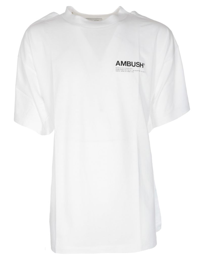 Ambush T-shirts AMBUSH LOGO PRINT T-SHIRT