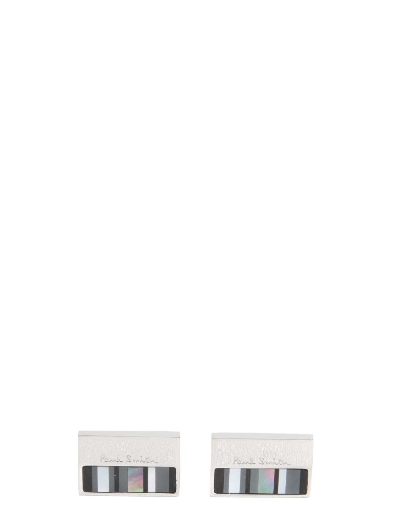 Paul Smith Cufflinks With Mother Of Pearl Plate - ARGENTO