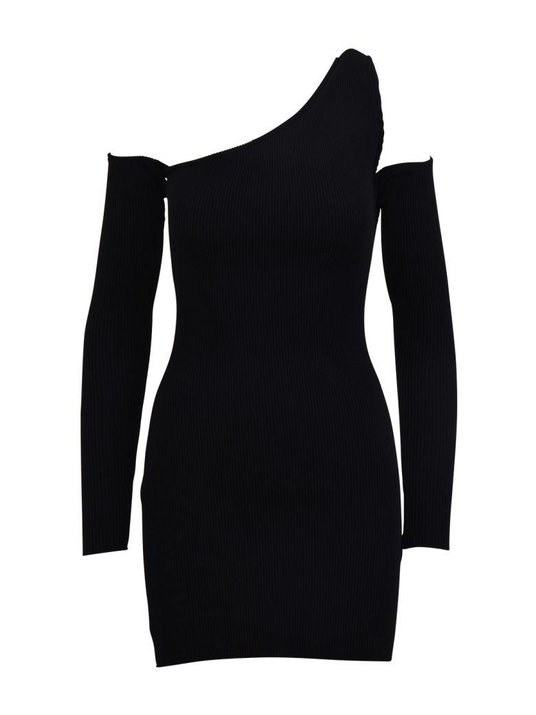 AMIRI Off-shoulder Mini Dress - Black