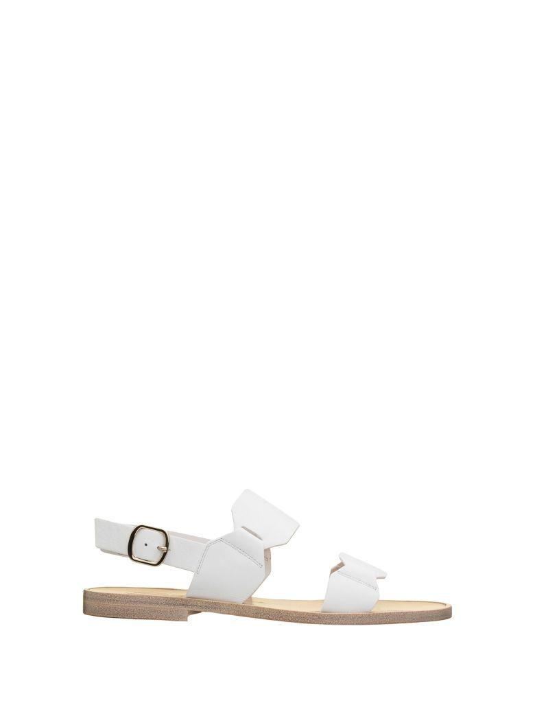 Santoni Santoni Brown Sandals - BIANCO
