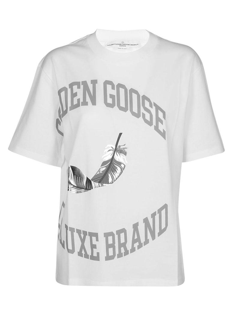 Golden Goose Logo Print T-shirt - White