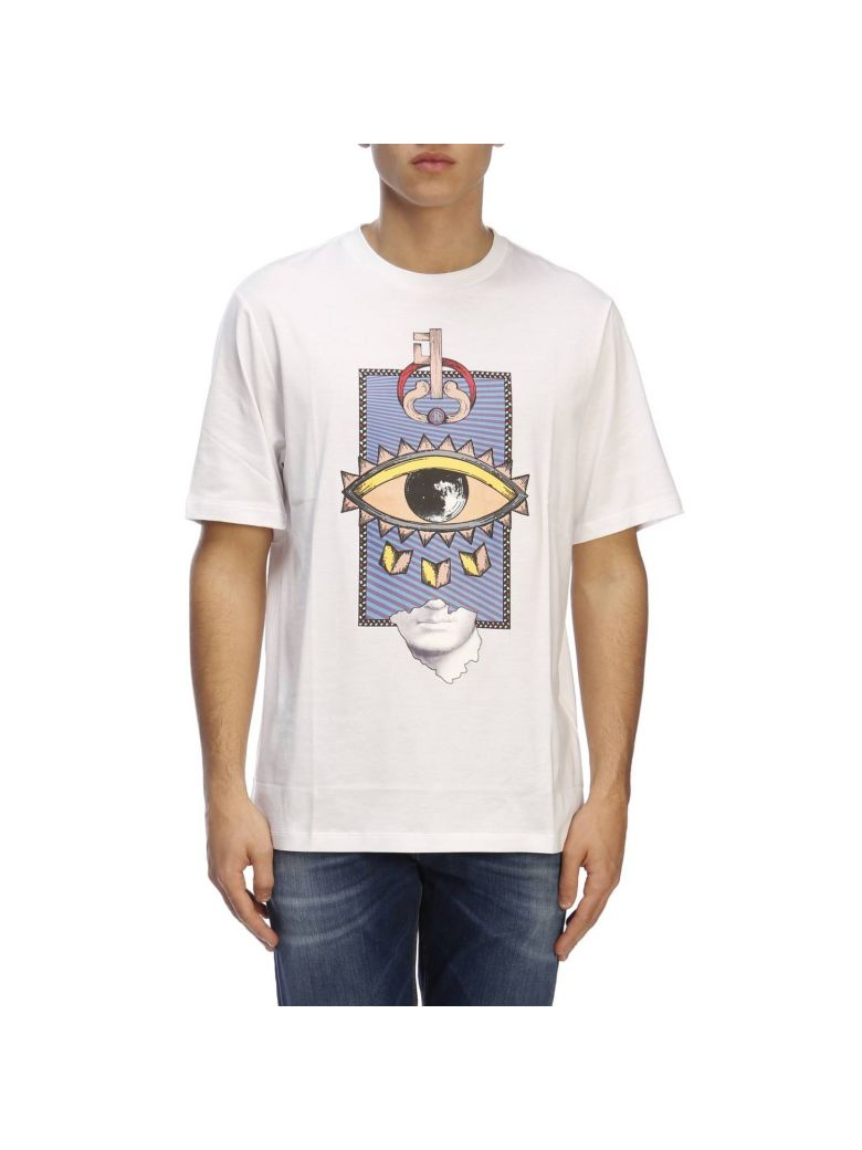 Roberto Cavalli T-shirt T-shirt Men Roberto Cavalli - White