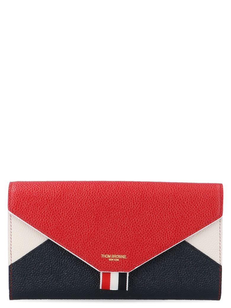 Thom Browne 'envelop' Wallet - Multicolor