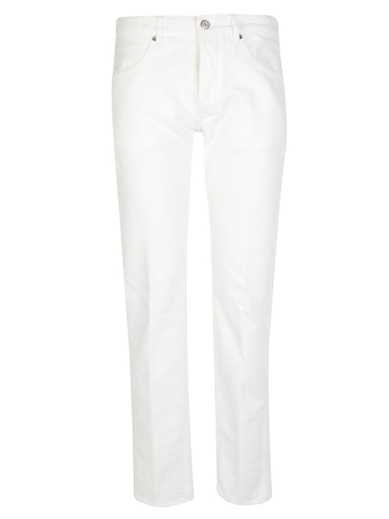 Golden Goose Pant Free - White destroyed