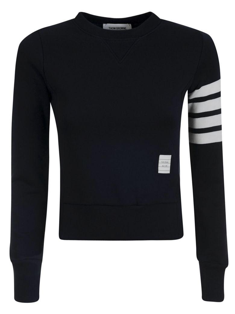 Thom Browne Pullover Sweatshirt - Blue