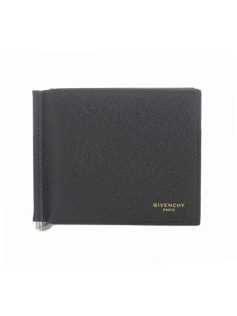 Givenchy Logo Bi-fold Cardholder - Black