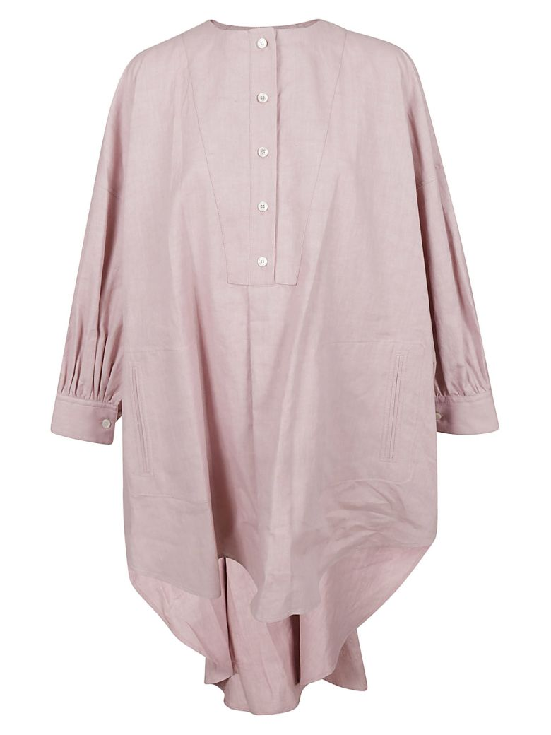 Golden Goose Plain Button Shirt - Pink
