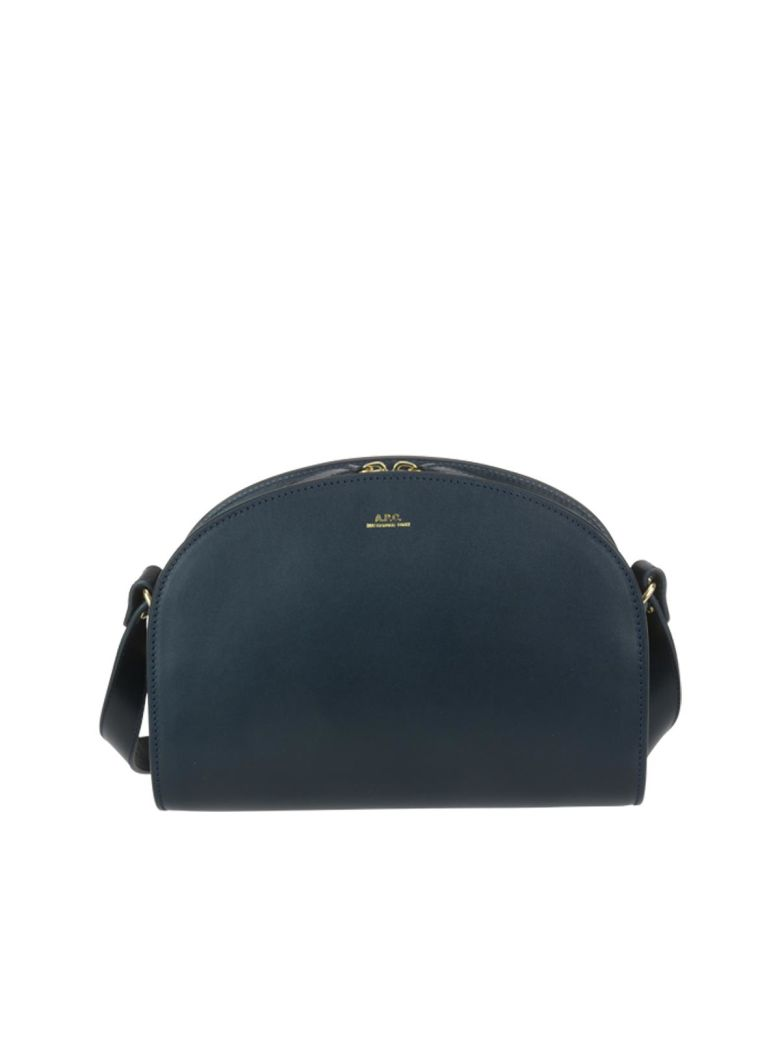 A.P.C. Demi-lune Crossbody - Dark navy
