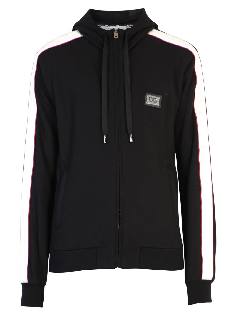 Dolce & Gabbana Branded Sweatshirt - Black