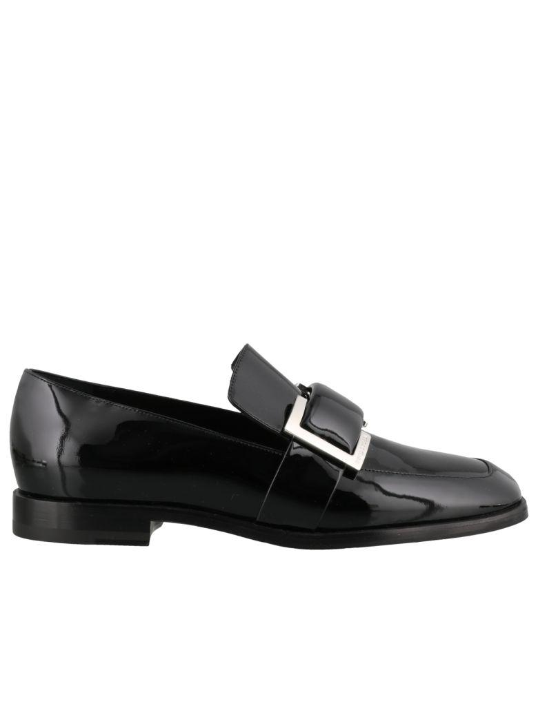 Sergio Rossi Prince Loafers - Black